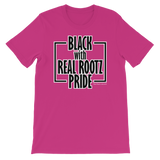 """Black Pride"" Women's T-Shirt (Black and White Lettering)"