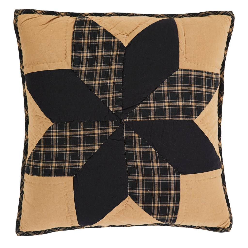 Dakota Star Quilted Pillow Cover