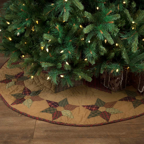 Deluxe Ruffled Mini Tree Skirt