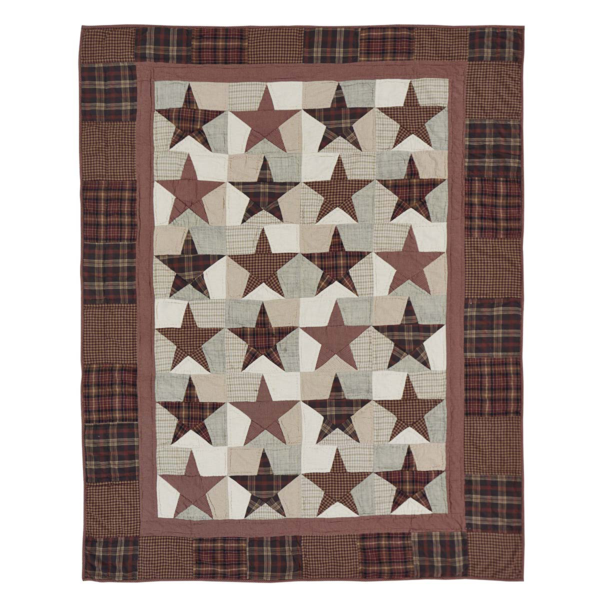Abilene Star Quilted Throw