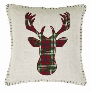 Conner Deer Throw Pillow