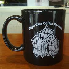 High Rise Coffee Roasters Colorado Springs, CO  - ceramic coffee mug