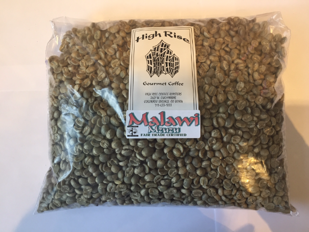 High Rise Coffee Roasters Colorado Springs, CO - Green coffee beans Malawi Mzuzu