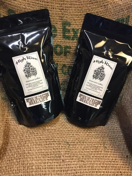 High Rise Coffee Roasters - French Roast fresh roasted in colorado springs