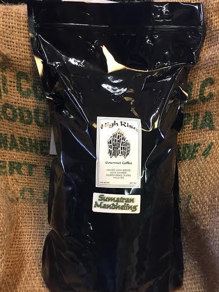 Sumatran Mandehling 5lb bag - High Rise Coffee Roasters