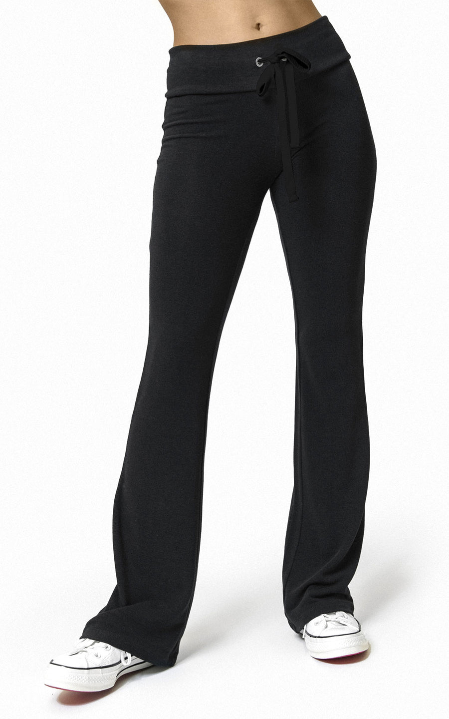 BLACK DIAMOND FLARE SWEATPANT