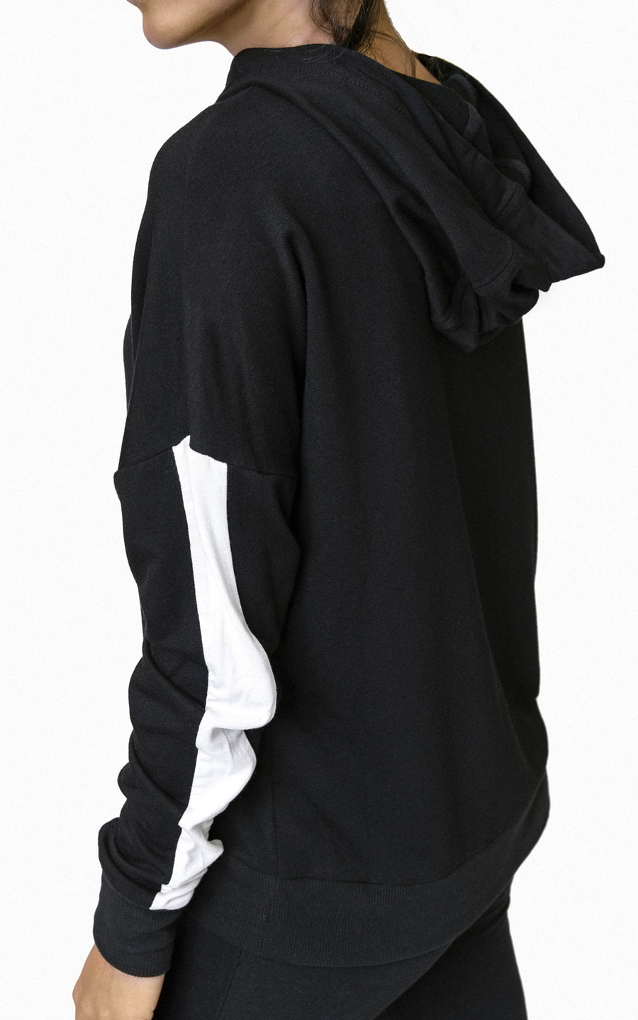 FLEECE PULLOVER WITH SPORT TRACK