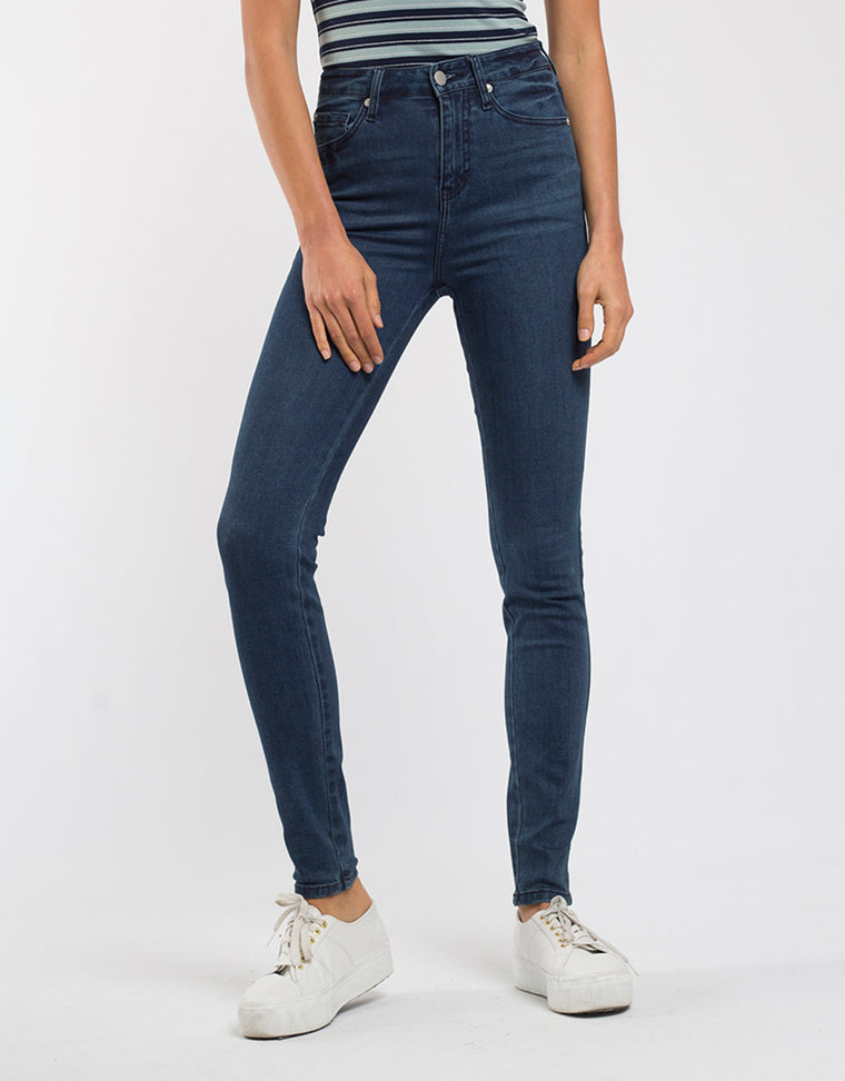 JUNO FULL LENGTH - BRIGHT INDIGO DENIM