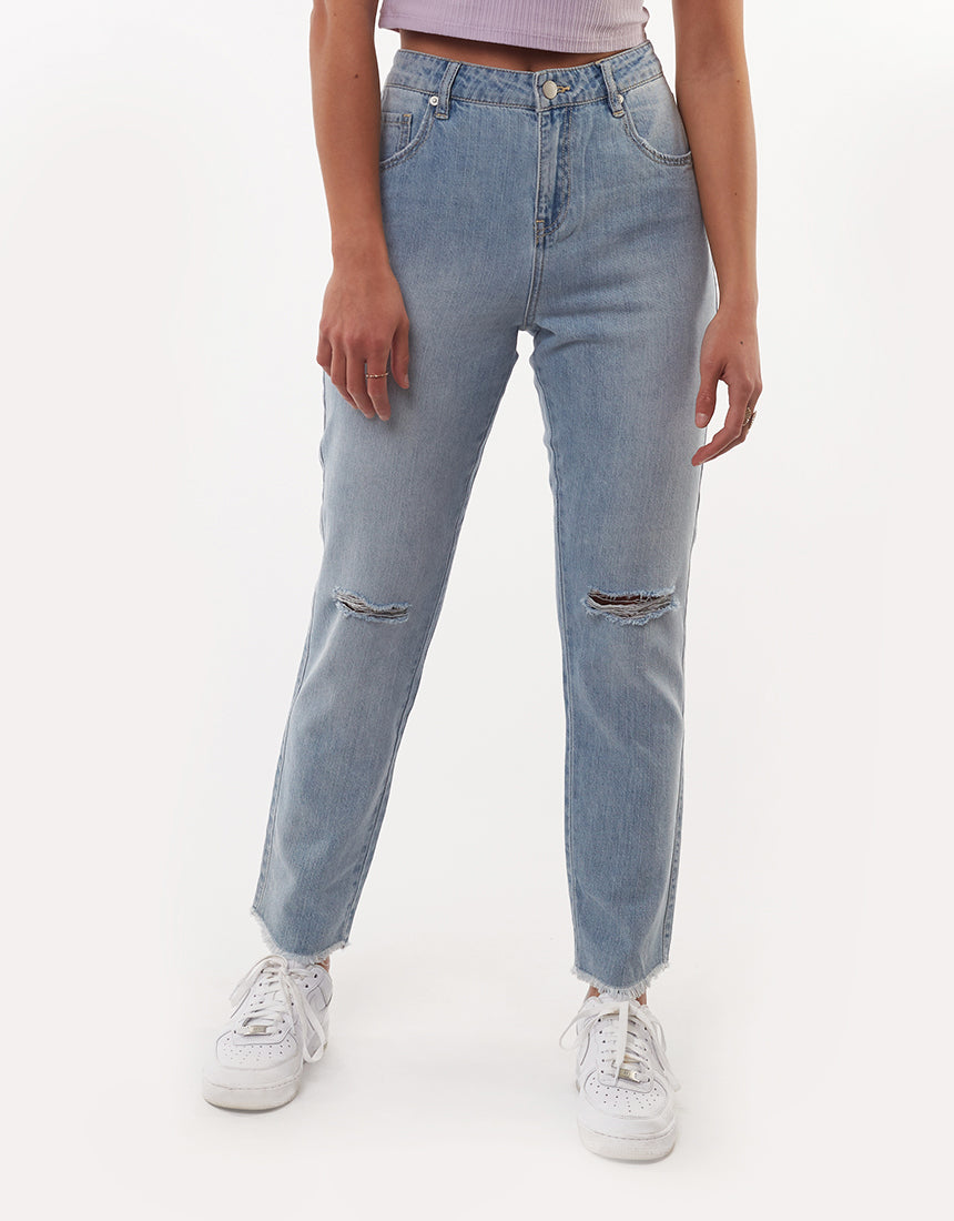 All About Eve Clothing HARPER ANKLE GRAZER - DENIM