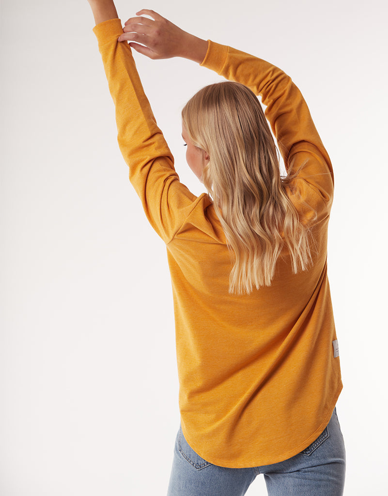 RENEE LONGLINE JUMPER - GOLD