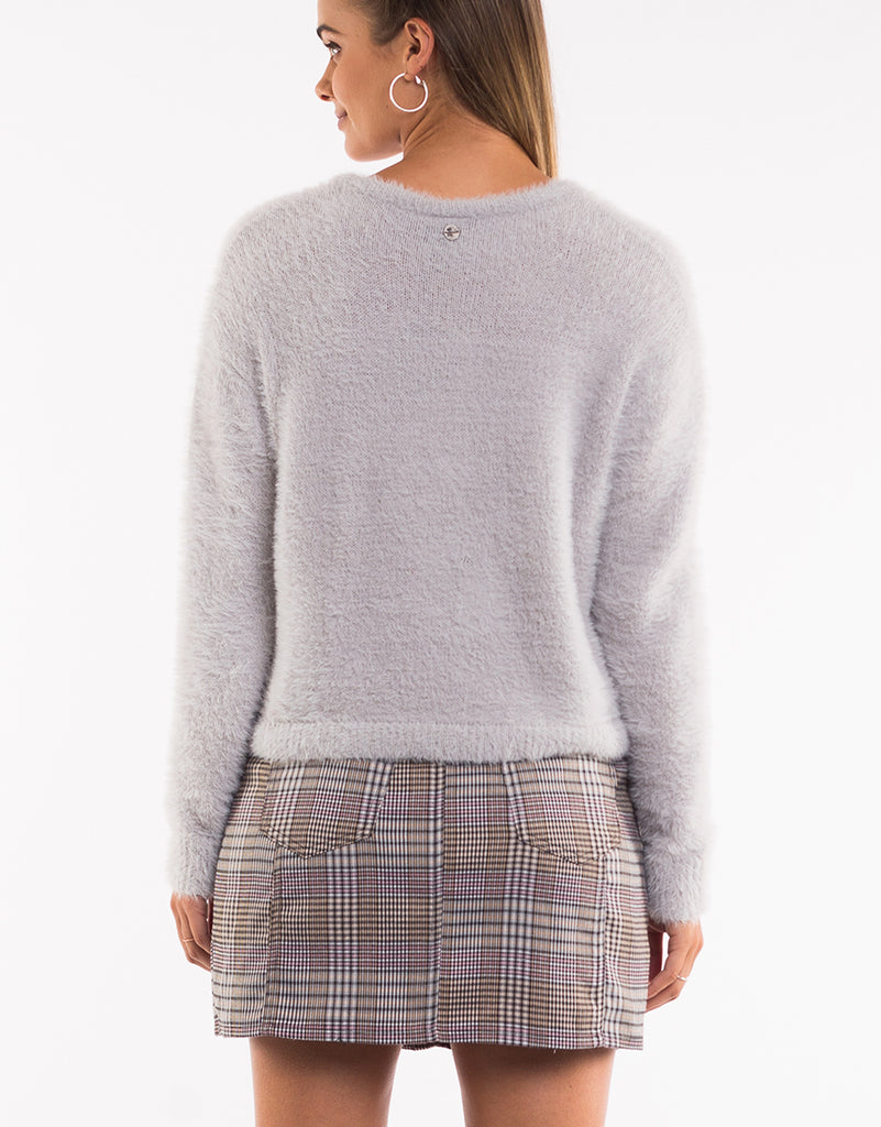 MORGAN KNIT - GREY
