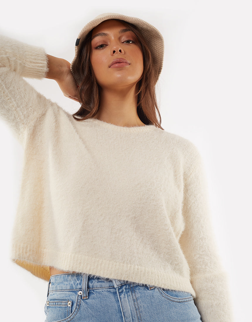 All About Eve Clothing MORGAN KNIT - SAND