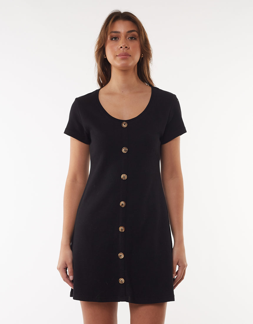 All About Eve Clothing OLD SCHOOL DRESS - BLACK