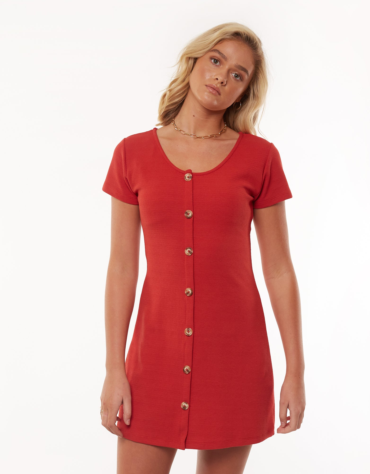 All About Eve Clothing OLD SCHOOL DRESS - RED