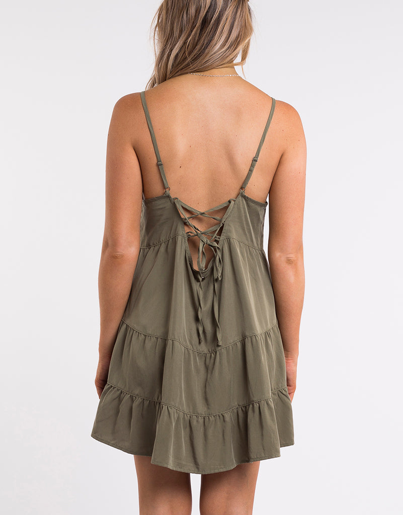 Bondi Dress Khaki