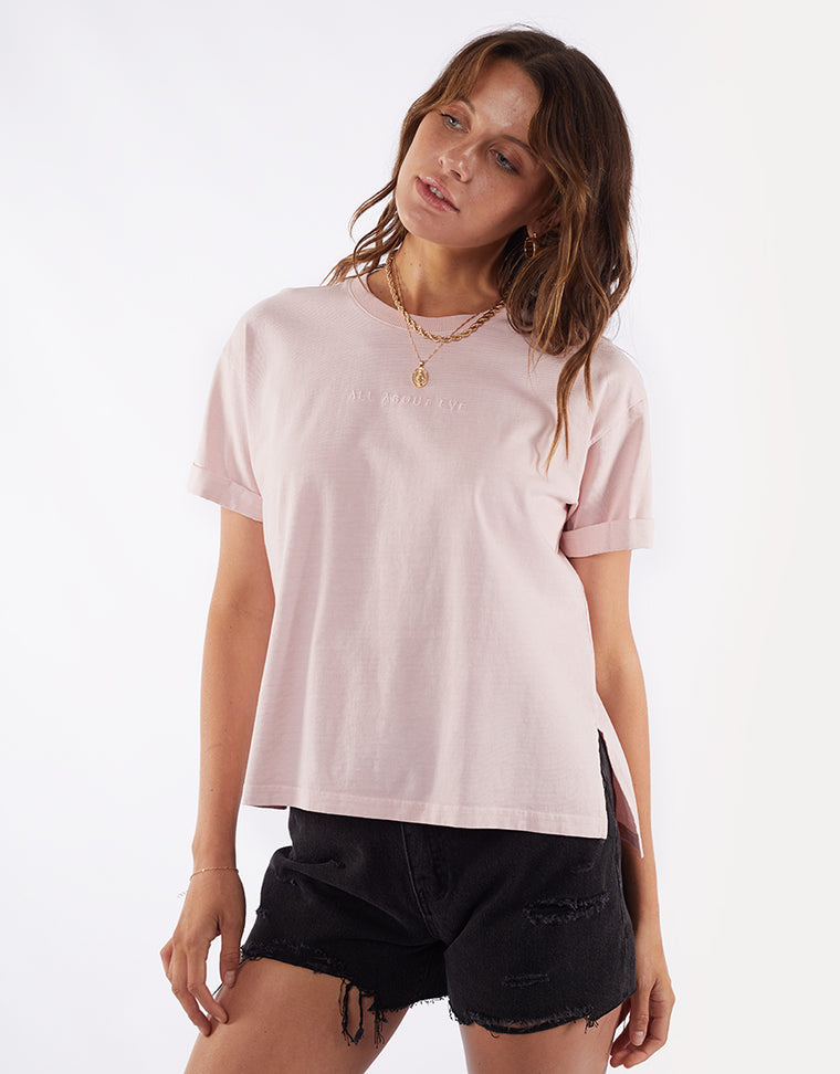 All About Eve Washed Tee Musk