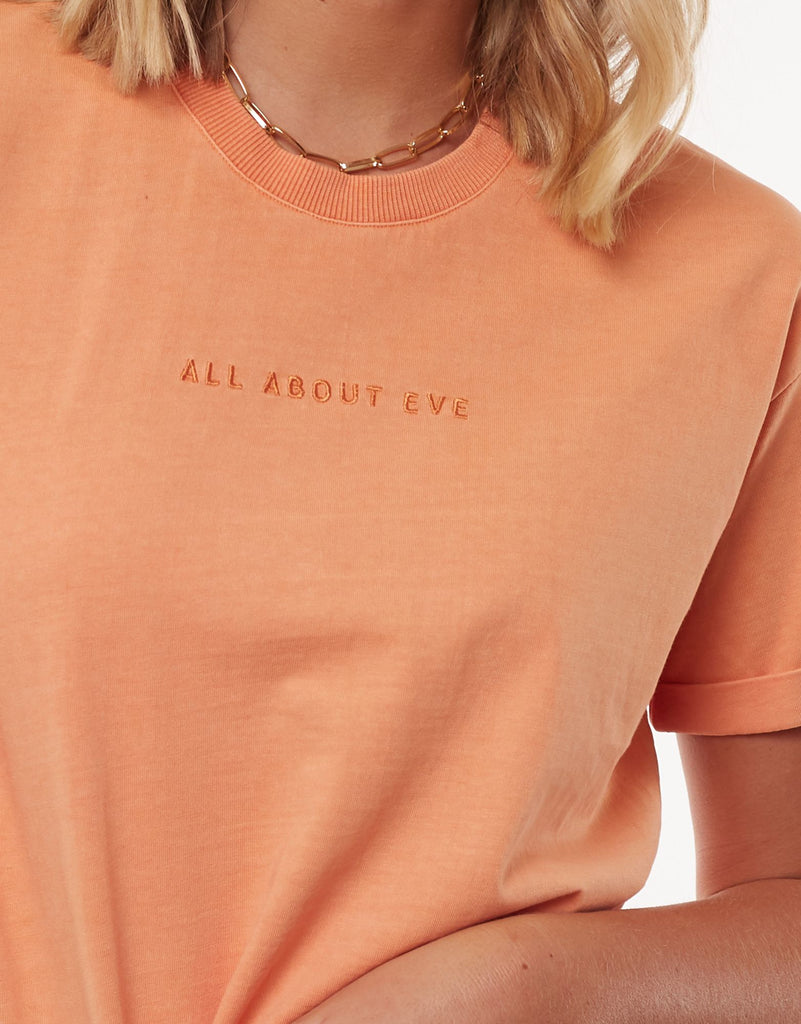 All About Eve Washed Tee Peach