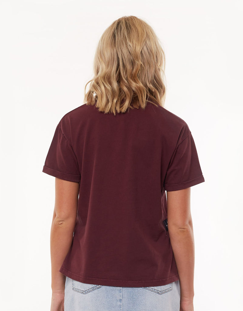 AAE WASHED TEE - PORT