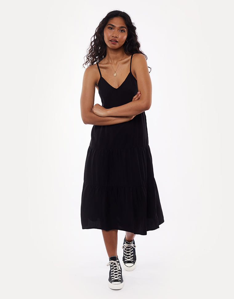 Bondi Midi Dress Black