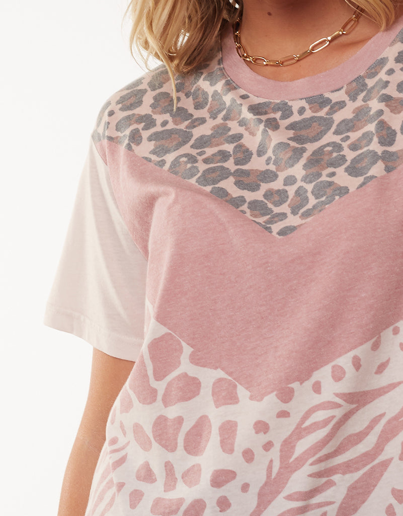 IN THE WILD TEE - PINK