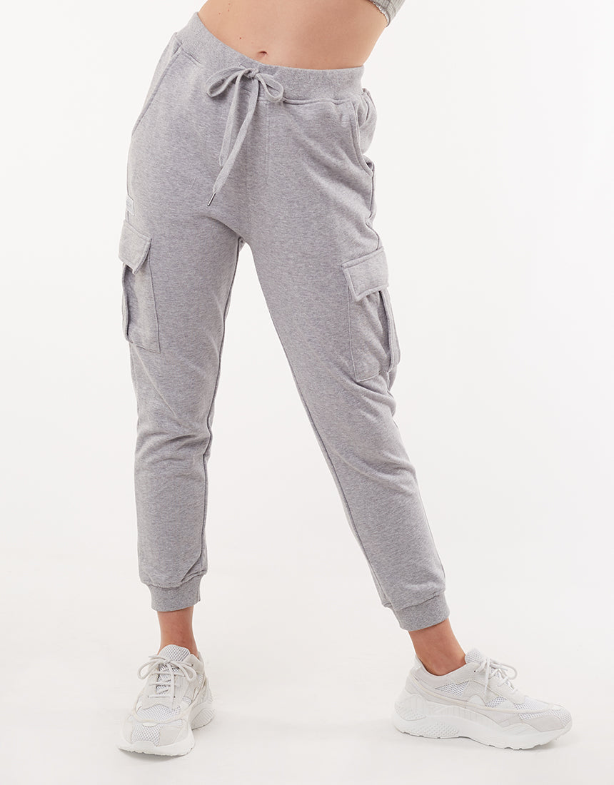 All About Eve Clothing COMBAT TRACKPANT - GREY MARLE