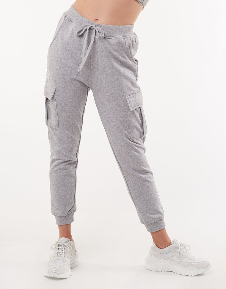 COMBAT TRACKPANT - GREY MARLE