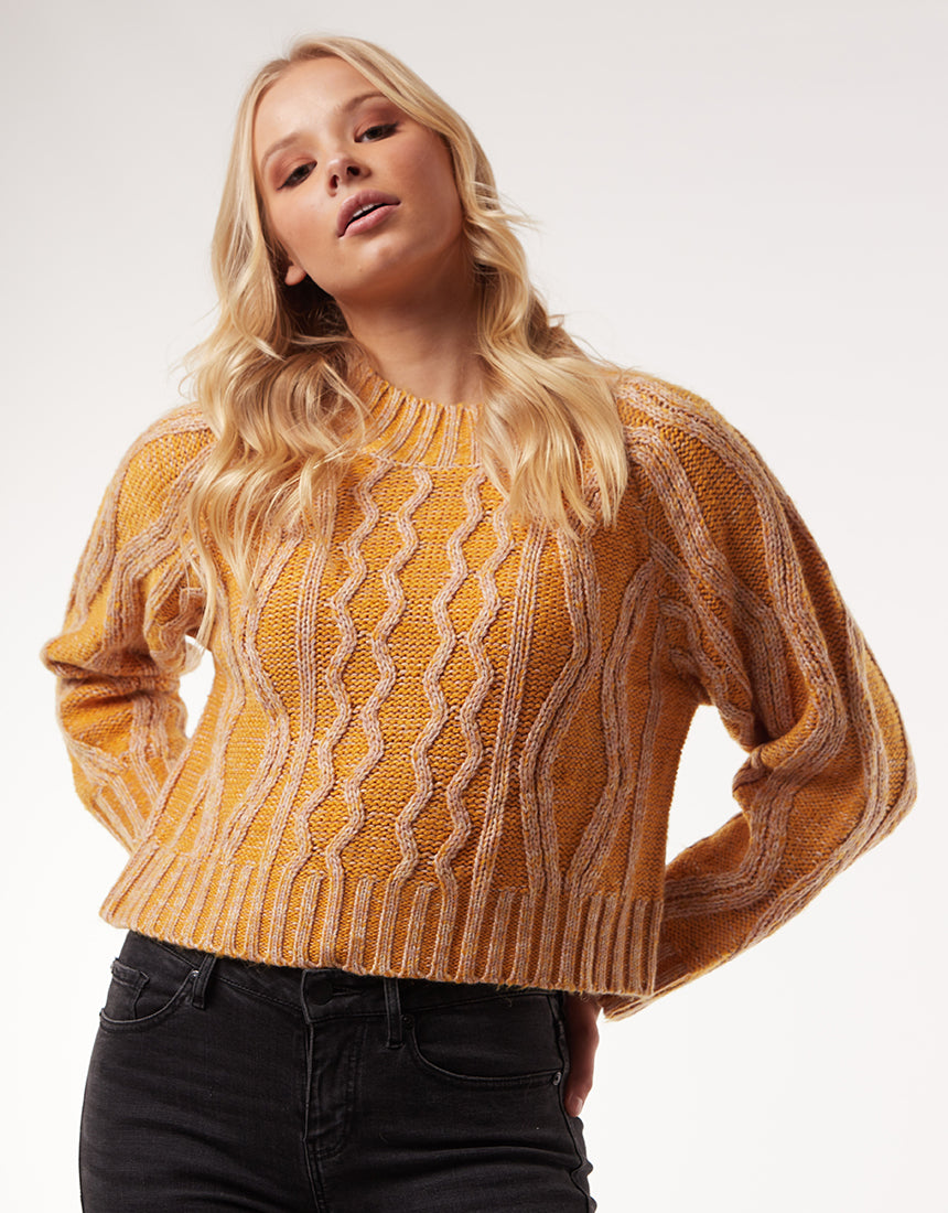 All About Eve Clothing ADORE KNIT - GOLD