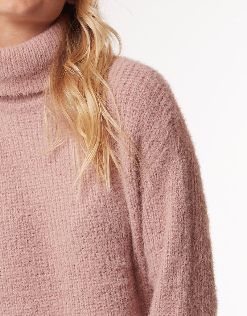 AMOUR KNIT - MISTY ROSE