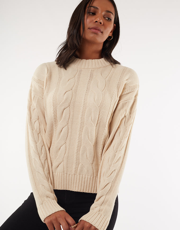 LUNA KNIT - CREAM