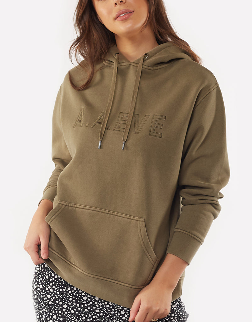 BE BOLD HOODY - DARK GREEN
