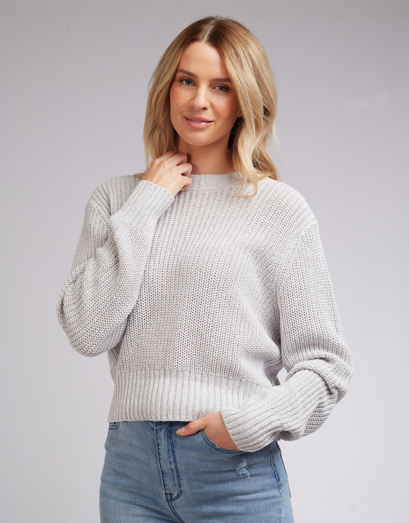 ORIGINAL KNIT - GREY MARLE