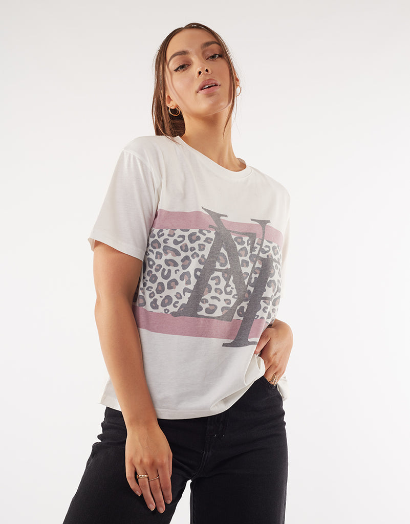 LUXE PANELLED TEE