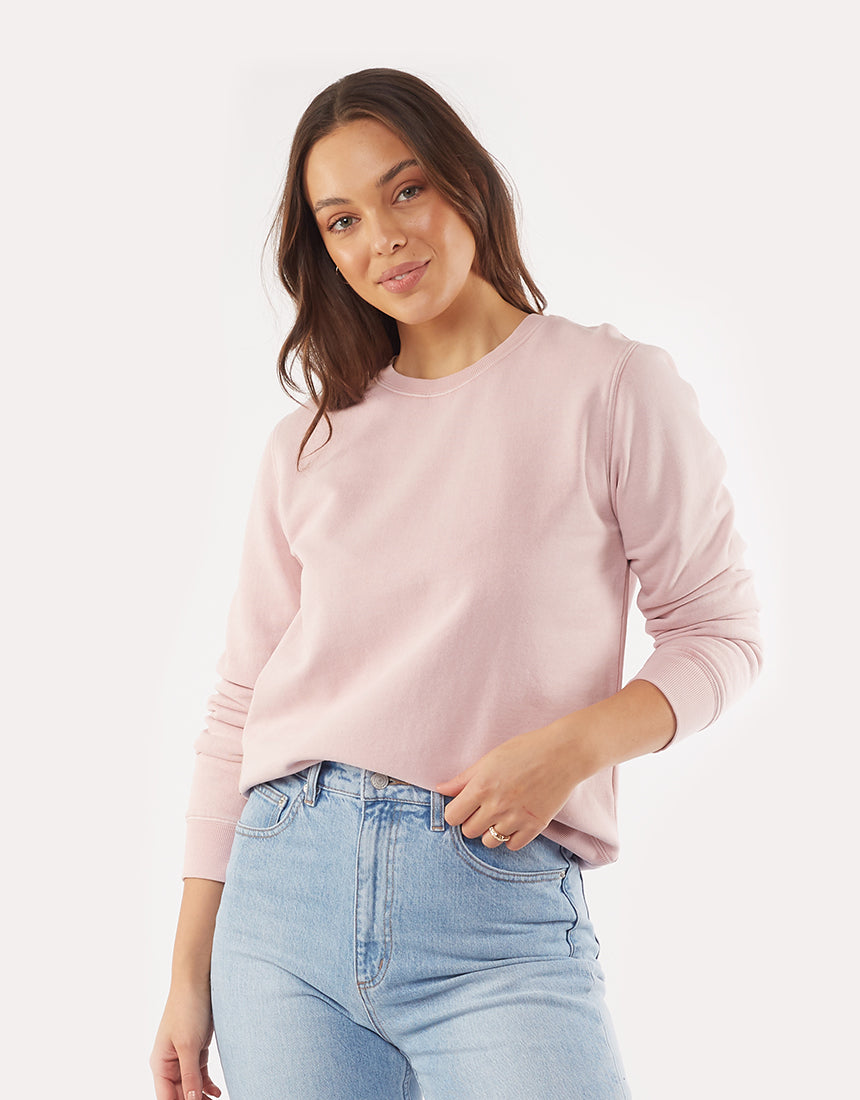 All About Eve Clothing ESSENTIAL CREW - PINK