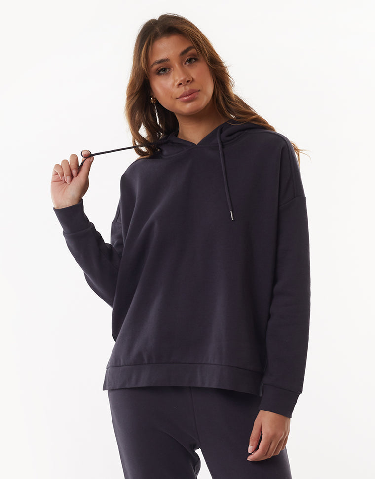 WANTED HOODY - CHARCOAL