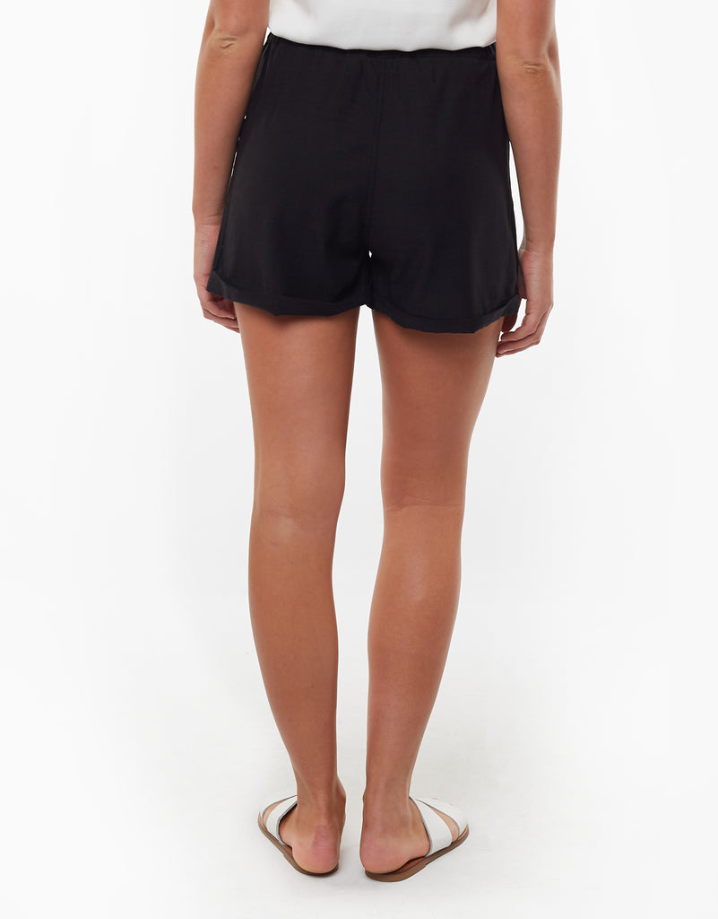 Utility Paperbag Short Black
