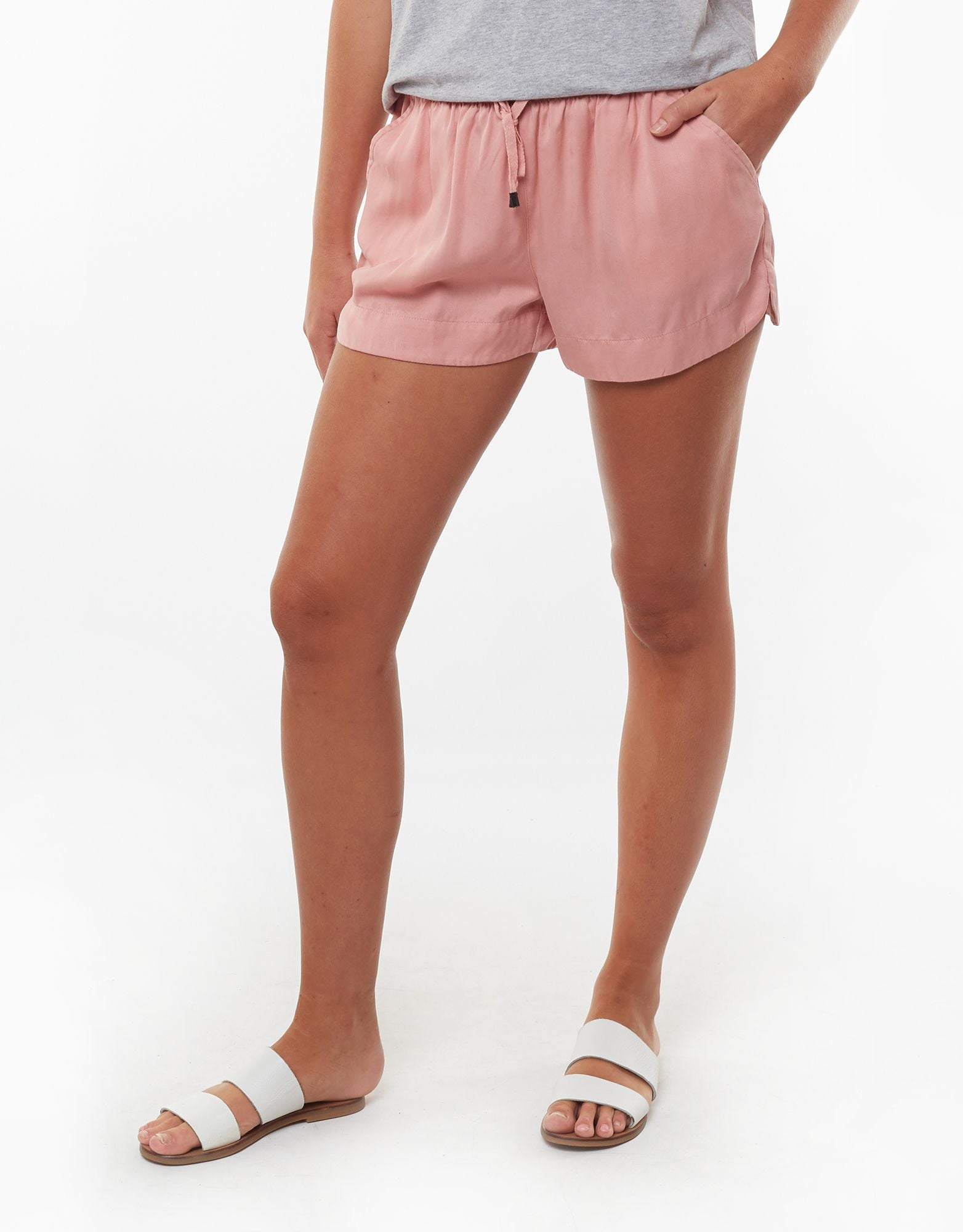 All About Eve Clothing RELAXED DAY SHORT - MUSK