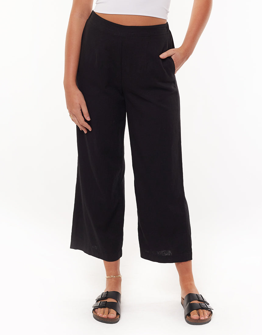 All About Eve Clothing EVERYDAY CULOTTE - BLACK