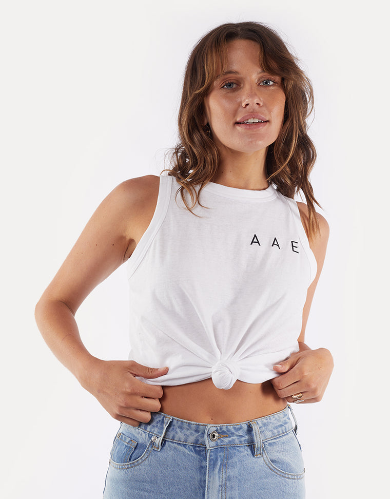 Easy Aae Tank White