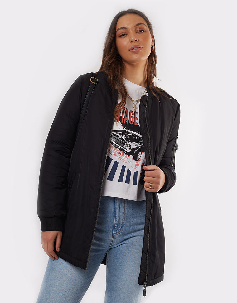 BOMBER FORCE LONGLINE - BLACK
