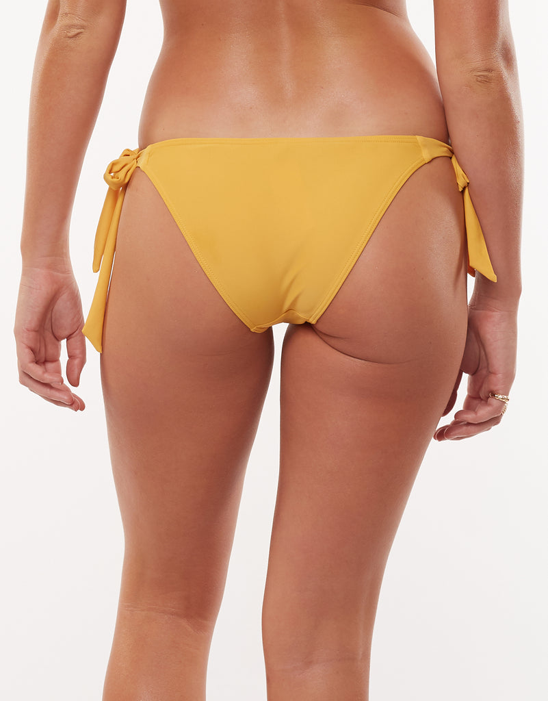 Evie Knot Side Bikini Gold