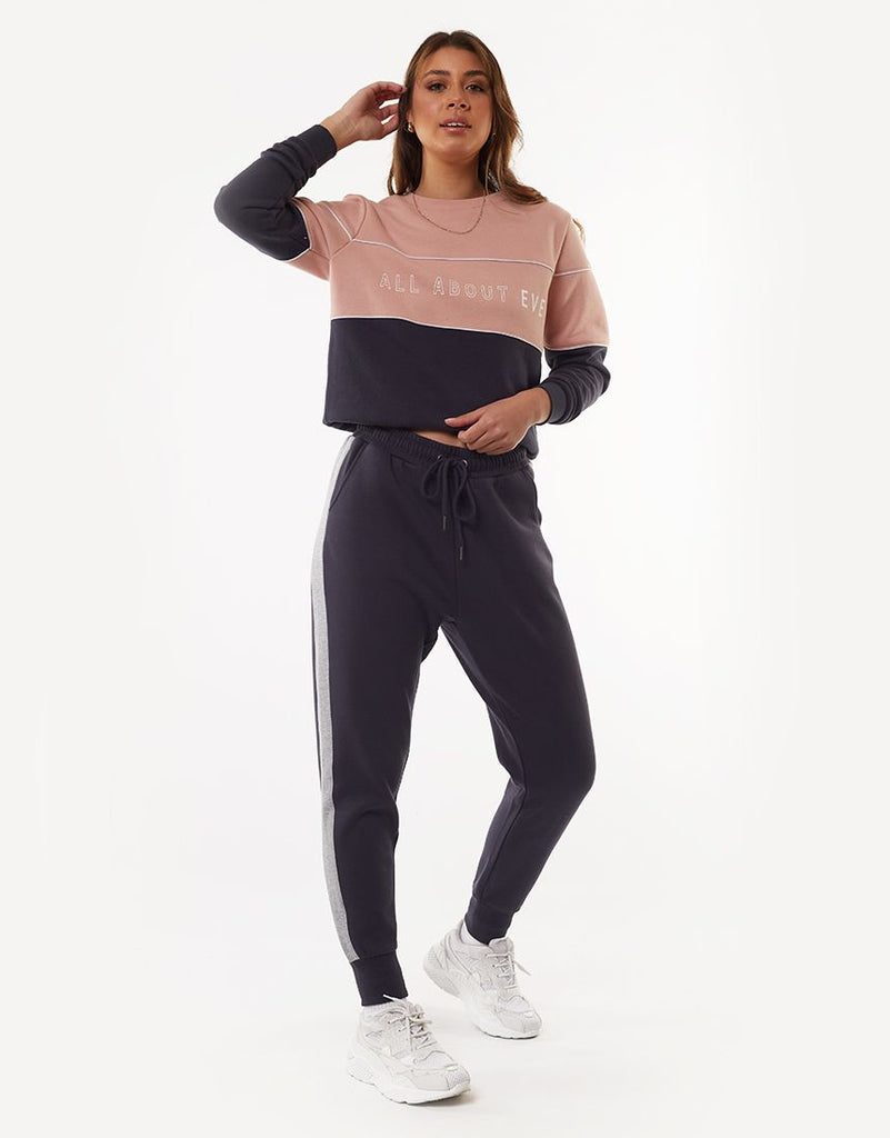 FRONTED TRACKPANT - CHARCOAL