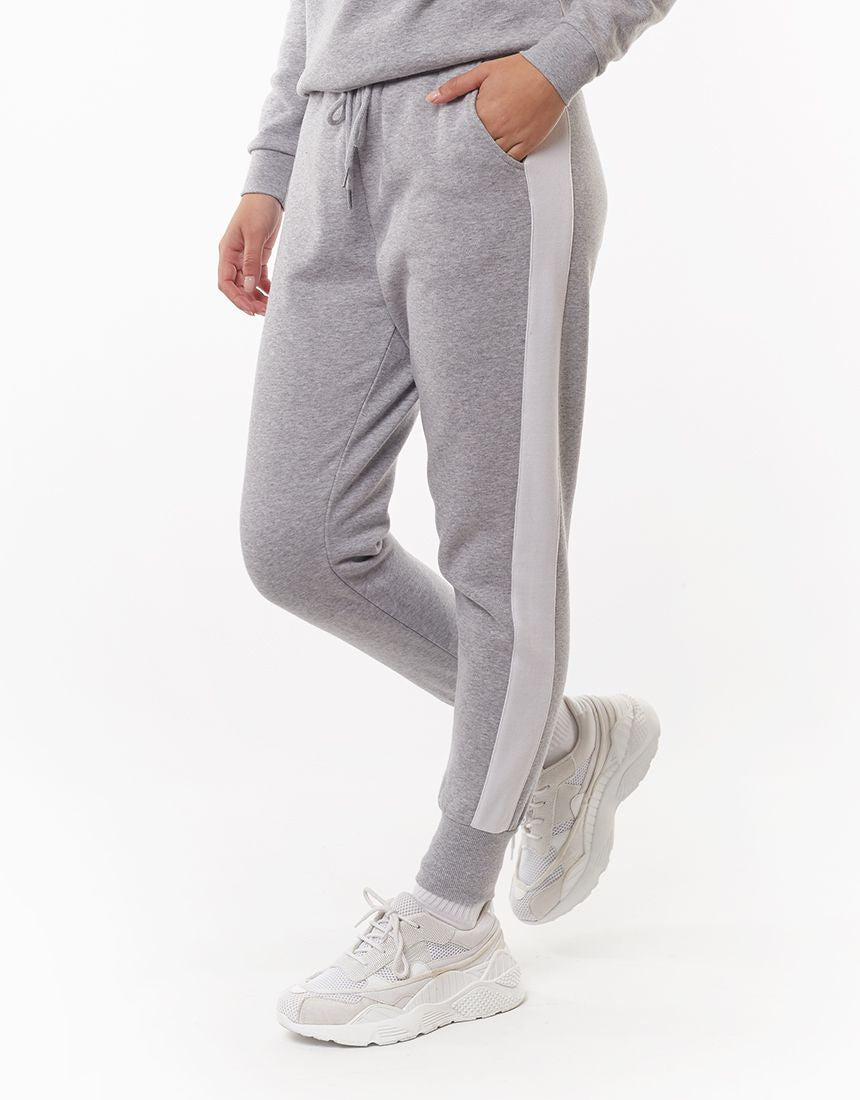 All About Eve Clothing FRONTED TRACKPANT - GREY MARL