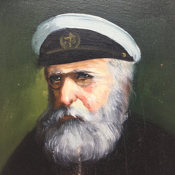 Sea Captain Painting