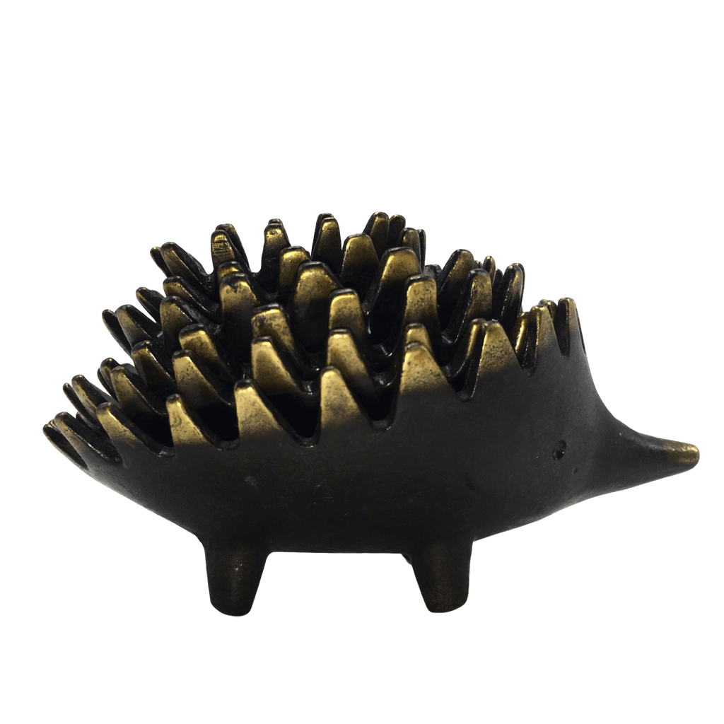 Nesting Hedgehog Ashtrays in the Style of Walter Bosse