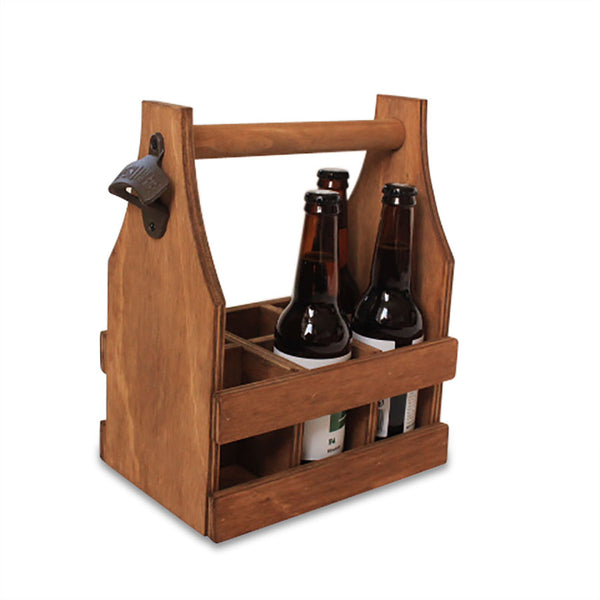 Wooden Beer Caddy,  | Base Furniture | Christchurch | New Zealand