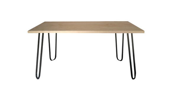 Pine Coffee Table with Hairpin Legs, Coffee Table | Base Furniture | Christchurch | New Zealand
