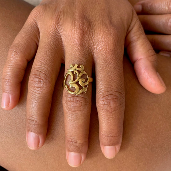 Brass OM Ring