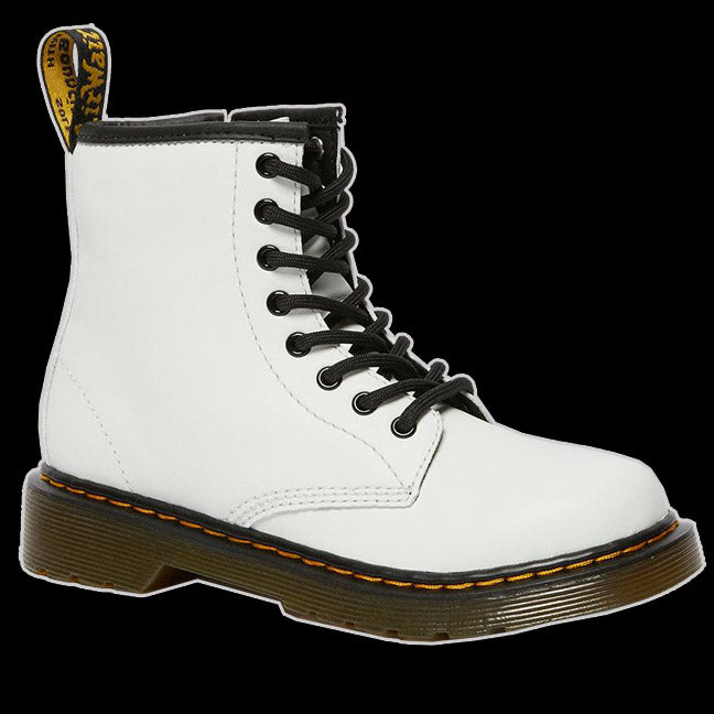Dr Martens - Toddler 8 Eyelet White leather Boot
