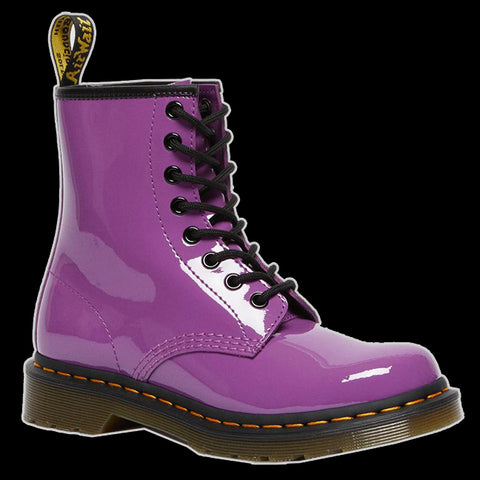 Dr Martens - 1460 PURPLE PATENT BOOT