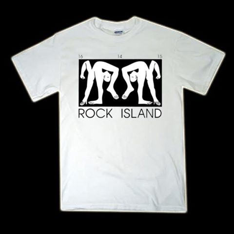 ROCK ISLAND T-SHIRT (WHITE)